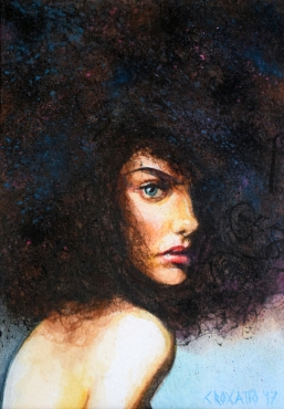 Watercolor, 5x7in